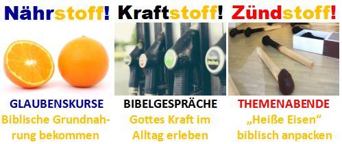 Banner Nähr-Kraft-Zündstoff