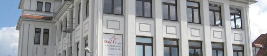 Gemeindehaus FeG Bamberg volle Ansicht