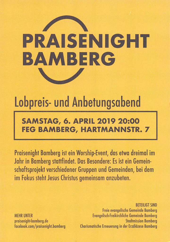 2019_04_06 Praisenight Bamberg002