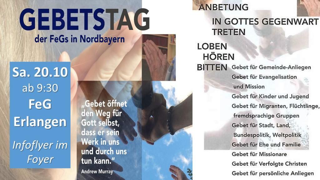 Gebetstag Erlangen