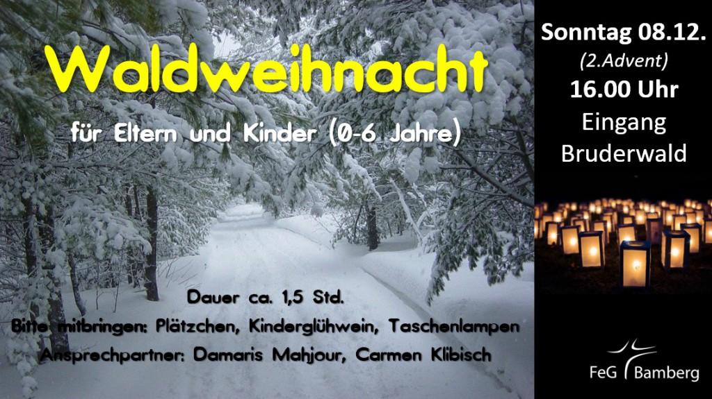2019-12-08 Waldweihnacht