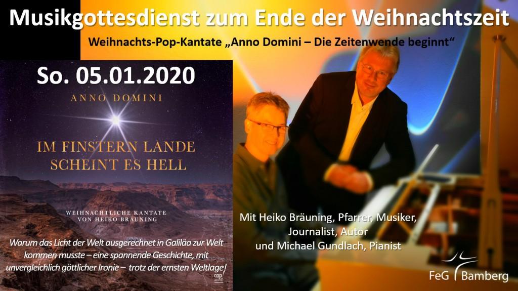 2020-01-05 Flyer Musikgottesdienst Anno Domini